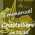 Le 15/15 d'emmanuel chastellière (version bis du mois2) chez bookenstock