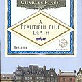 A beautiful blue death, de charles finch