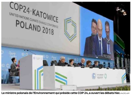 a la COP 24