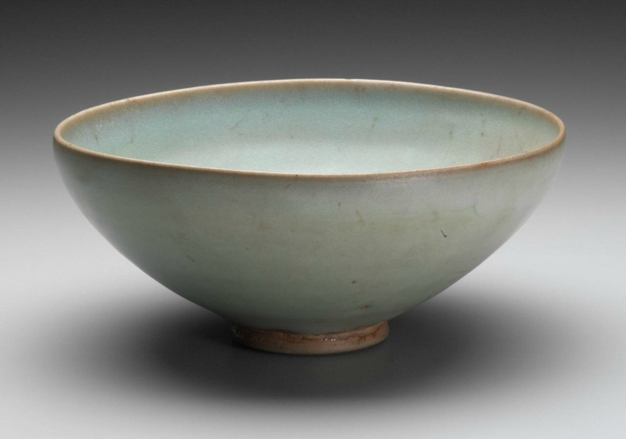 Bowl, Northern Song dynasty, 960 CE-1127, Jun ware