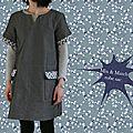 La robe sac ou celle d'une débutante
