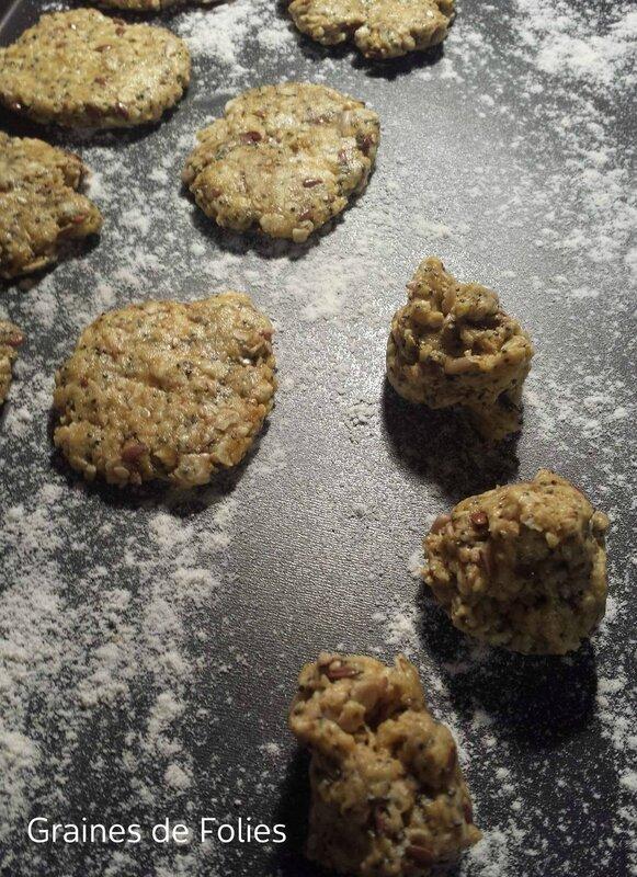 crakers flocons graines et curry pas cuits 1