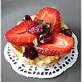Deux petits fraisi-desserts ...
