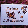 j'aime l'automne pour Francine