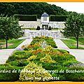 Les jardins de l'abbaye st-georges de boscherville (seine maritime)