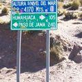 72 EN RTE VERS LE CHILI C'EST HAUT LES ANDES
