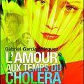 Livre : l'amour aux temps du cholera de gabriel garcia marquez