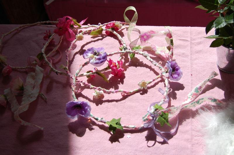 couronne de fleurs / flowers's crown