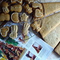 Essais de décors en pain d'épices