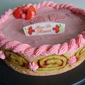 Gâteau totally fraisy pour la fête des mères