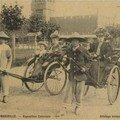 11. Exposition coloniale Marseille 1922 Pousse pousse.