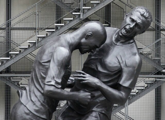 Sculpture Zidane