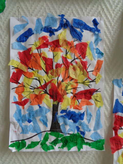 Arbres aux couleurs de l'automne