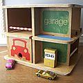 Garage bois années 60