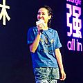 Jolin at adidas press conference in xiamen
