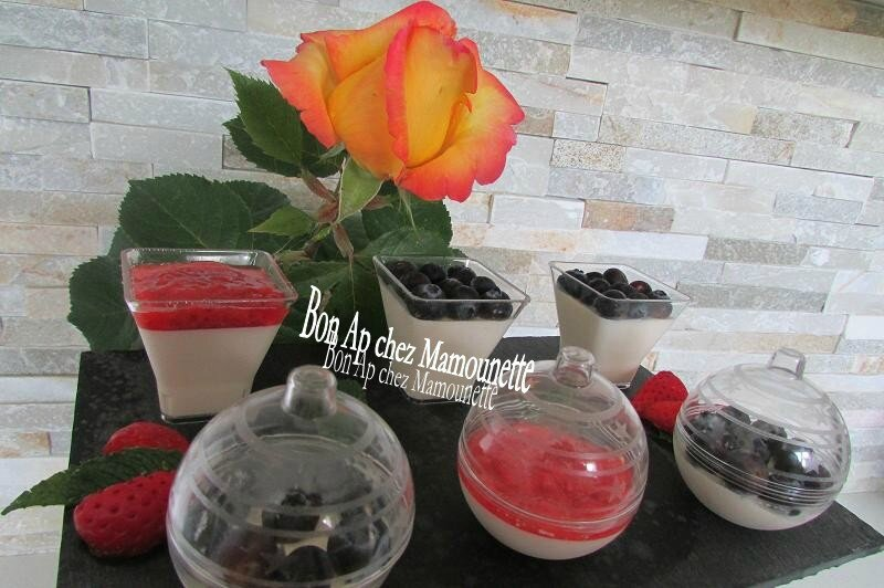 panna cotta myrtille fraise 027