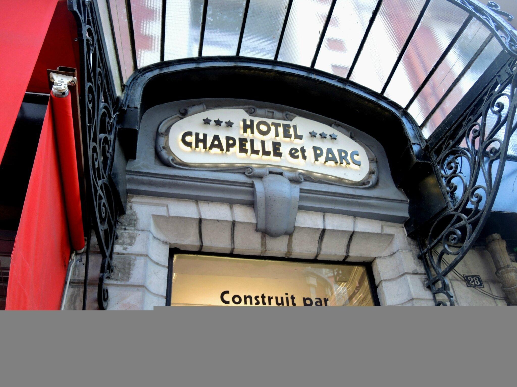 Lourdes, hôtel, chapelle du parc (65)