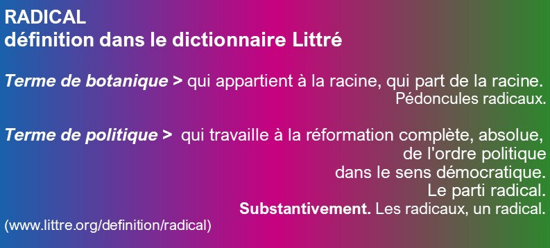 Radical Définition