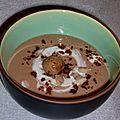 Velouté de marrons au cacao